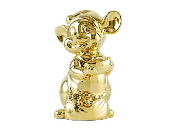 Chuột Quý 24 cm - Trang trí dát vàng 24K