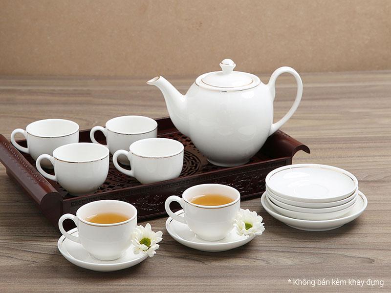 cửa hàng bán bộ ấm trà Minh Long