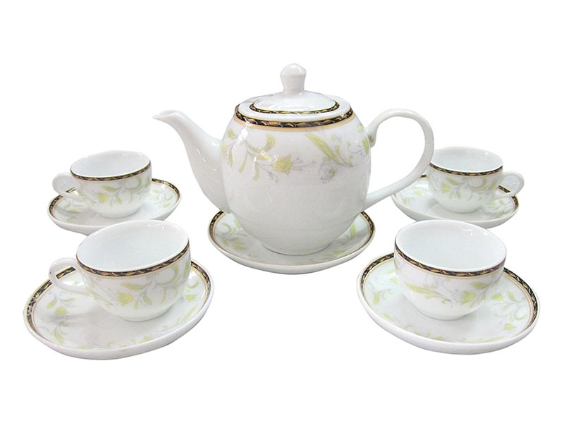 Bộ ấm trà Bát Tràng giá bao nhiêu?